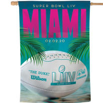 Super Bowl Flag