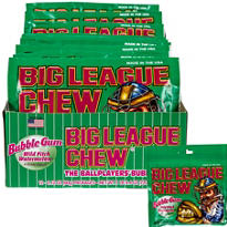 Big League Chew Bubble Gum 12ct