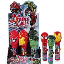 Marvel Pop-up Lollipops