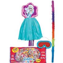 Pull String Elsa Frozen Pinata Kit Deluxe
