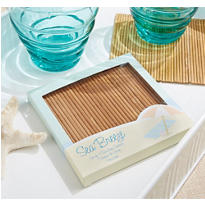 Bamboo Coasters 4ct