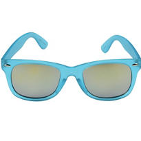 Caribbean Blue Mirrored Sunglasses