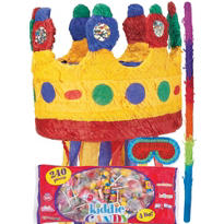 Pull String Crown Pinata Kit