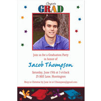 Custom Dare to Dream Photo Invitations