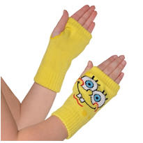 Child SpongeBob Arm Warmers