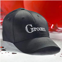 Groom Embroidered Baseball Hat