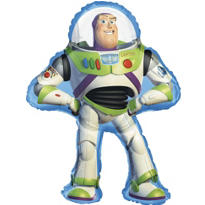 Foil Supershape Buzz Lightyear Balloon 24in