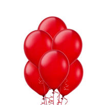 Red Latex Balloons 9in 20ct