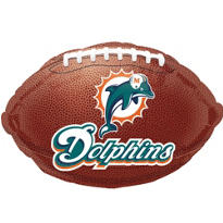 Miami Dolphins Balloon 18in