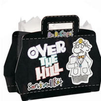 Over the Hill Gift Bag 9 1/2in