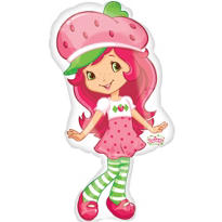 Foil Strawberry Shortcake Balloon 31in