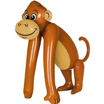 Inflatable Monkey 43in