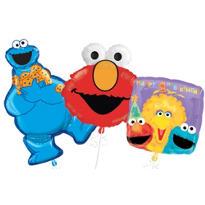 Sesame Street 1st Birthday Balloons