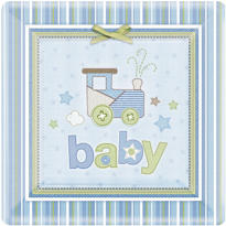 Carter Boy Baby Shower Party Supplies