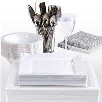 White Premium Tableware