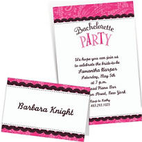 Custom Bachelorette Invitations & Thank You Notes