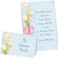 Custom Spring Invitations & Thank You Notes