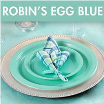 Robin's Egg Blue Bridal Shower Supplies
