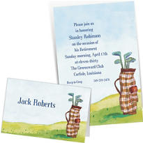 Custom Golf Invitations & Thank You Notes