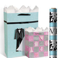 Wedding Gift Bags & Gift Wrap