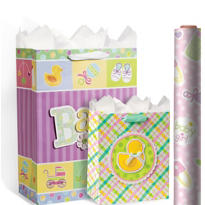 Baby Shower Gift Bags & Wrap
