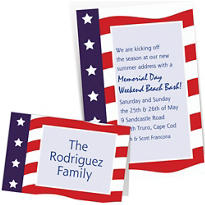Custom 4th of July Invitations & Thank You Notes