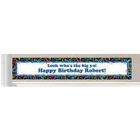 Custom Happy Birthday Banners