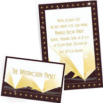 Custom Hollywood Invitations & Thank You Notes