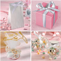 Wedding Favor Boxes & Bags
