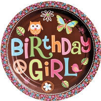 Hippie Chick Birthday Party Supplies