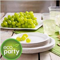 Eco Friendly White Tableware