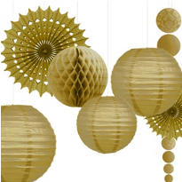 Gold Wedding Decorations
