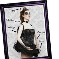 Ballerina Black Swan Mix & Match Women's Looks