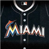 MLB Miami Marlins Party Supplies