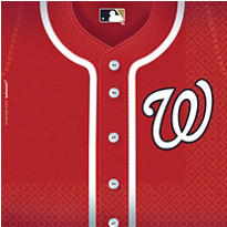 MLB Washington Nationals Party Supplies