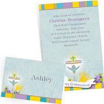 Custom First Communion Invitations & Thank You Notes
