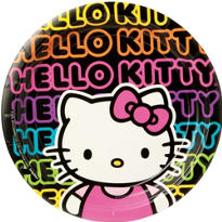 Neon Hello Kitty Party Supplies