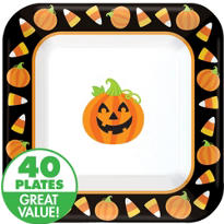 Halloween Friends Value Plates & Tableware