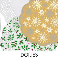 Christmas Doilies