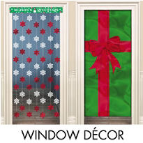 Christmas Window & Door Decorations