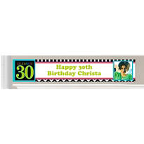 Custom 30th Birthday Banners