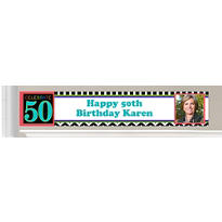 Custom 50th Birthday Banners