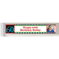 Custom 60th Birthday Banners