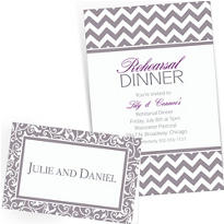 Silver Custom Invitations & Banners