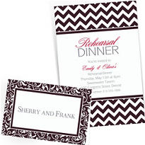 Black Custom Invitations & Banners