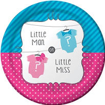 Bows & Bow Ties Gender Reveal Party Supplies