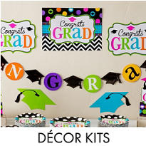 Graduation Room Decorating Kits