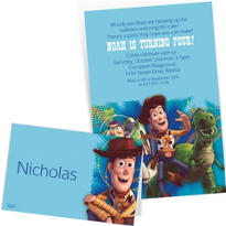 Custom Toy Story Invitations & Thank You Notes