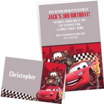 Custom Cars Invitations & Thank You Notes
