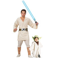 Yoda and Luke Skywalker Star Wars Daddy and Me Costumes